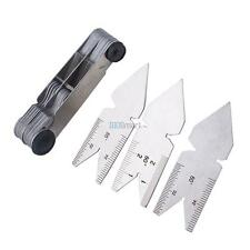 Screw Thread Pitch Gauge Tool 60° Whitworth 55° 52 Blades Steel Inch ISO Metric