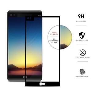Full Screen Cover LG V40,V50,G8x,Stylo5,K30,K40 Tempered Glass Screen Protector
