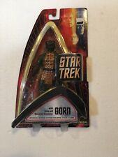 "Star Trek Gorn  Action Figure 7"" Art Asylum 2004 Wave 3 New MIB"