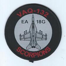 VAQ-132 EA-18G SCORPIONS BULLET patch