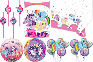 My Little Pony Kids Birthday Party Favor Game Decoration Tableware Balloons Accs