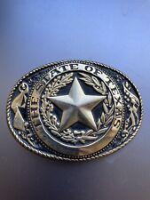 Belt Buckle – State Of Texas – Brass - Western