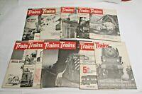 Lot of 11 Vintage 1966 January - December Trains Magazine Missing April Edition