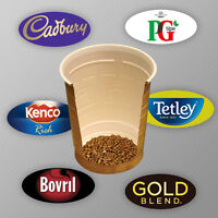 Incup Drinks for Vending Machines 73mm FREE P&P offer! Cadbury,Gold Blend,Latte