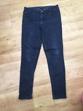 Ladies Women's Blue Slim Fit Jeans Size 10 Florence And Fred