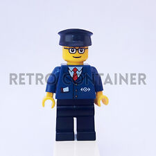 LEGO Minifigures - 1x trn128 - Train Conductor - Worker Omino Minifig Set 7897