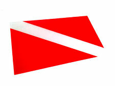 "The Reflective Dive Flag Scuba Diving Diver Sticker 3m Decal 2"" X 3"" Scuba Gear"