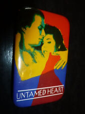 Untamed Heart Pin Back Movie Promotional 1993 Button Marisa Tomei Video Store