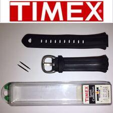 ORIGINAL TIMEX TX656381 IRONMAN TRIATHLON 18MM BLACK WATCH BAND STRAP