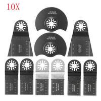 10 Pcs Lame de Scie Oscillante Outil Multi Multifonction Tool Pour Bosch Fein\