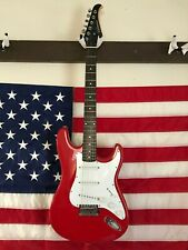 Silvertone Model SS-11/R Electric Guitar with Fresh Setup