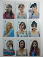Twice Twaii's shop transparent photocard pop up store official, once