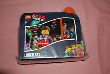 New Lego Movie Lunch Set Sealed Emmet Wyldstyle Lunchbox Water Bottle