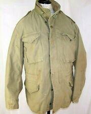 Alpha Industries Field Jacket Cold Weather Coat OG-107 M-65 1974 Med,Reg