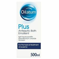 Oilatum Plus Eczema Antiseptic Emollient Bath Additive 500ml