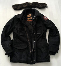 Parajumpers invierno chaqueta m fieldjacket campo chaqueta negro PJS m65