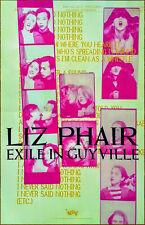 LIZ PHAIR Exile In Guyville: 25th Anniversary 2018 Ltd Ed RARE New Poster!