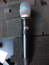Shure ULXD Dual Channel Wireless Microphone System Beta87