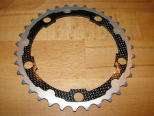 Carbon-Ti Tune X-Ring Alu Carbon Kettenblatt LK110 34T Road XTR Singlespeed
