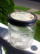 Burma-Shave 1Lb.Jar With Original Adv. Lid