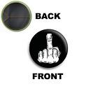 PINS PIN SPILLA 2,5 CM 25 MM logo rock goth
