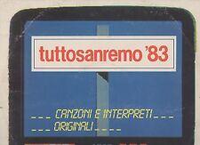 VASCO ROSSI TOTO CUTUGNO VIOLA VALENTINO ZUCCHERO MODUGNO CARRA 2 LP  SANREMO 83