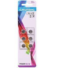 6xAG10 Button Cell Alkaline Set 392/LR41/AG3 grundig Power +³ Remote AR5158