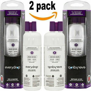 New 2PACK EveryDrop Ice & Refrigerator Water Filter 1 EDR1RXD1 White US Ship
