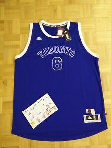 NWT Cory Joseph Toronto Raptors Huskies Retro Adidas R30 Swingman Jersey Men XL