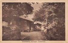 Sonneberg Germany Thuringen Lutherhaus Antique Postcard J66440