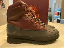 Timberland Mens Euro Hiker, Brown/Back Leather #TB0A1OQA $175 Retail Sz 10.5 NEW