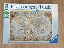 Ravensburger 1500 piece Puzzle World Map 1594