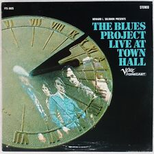 THE BLUES PROJECT: Live At Town Hall '67 Verve Forecast DG Orig Blues Psych LP