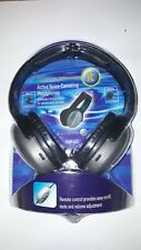 INNOVATIVE TECHNOLOGY ACTIVE NOISE CANCELING HEADPHONES REMOTE CONTROL ITHP-572