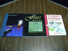 LOT OF 3; FLYTYING BOOKS :Beginners Guide to Flytying, FLIES, THE ART OF FLY TYI