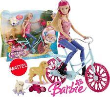 Barbie cld94-ses soeurs dans la grande aventure chiot spin-n-ride animaux Chiots