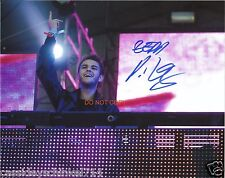 "DJ Zedd Reprint Signed 8x10"" Concert Photo RP Electro House"