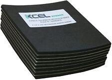 XCEL Neoprene Sponge Rubber Anti-Vibration Pads w/ Adhesive 6