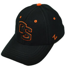 newest be0f0 08436 NCAA Zephyr Oregon State Beavers Flex Fit X-Large Black Hat Cap Stretch OS