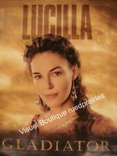 Kakemono Roulée 92x124cm GLADIATOR (2000) Russell Crowe, Connie Nielsen NEUVE