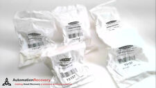 BANNER SMBAMS30RA - LOT OF 5, 30 MM RIGHT ANGLE BRACKET, 73137, NEW #278591