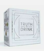 Truth or Drink - Fun Drinking Card Game for Adults, Great for Parties and Game