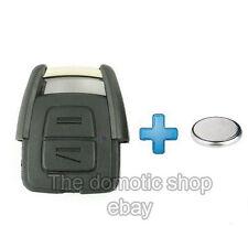 Coque clé Telecommande Opel ZAFIRA ASTRA VECTRA MERIVA CORSA clef + PILE CR2032