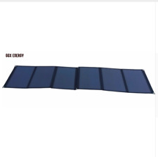 Folding Solar Panel 120W Watt 20V Volt Portable Camping Prospecting Survival Amp