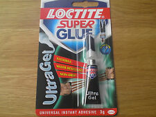Loctite Super Glue Ultra Gel Flexible Water Resistant Non Drip Instant Power 3g,