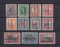 MEXICO 1914, Sc#423-433, CV $52, MH