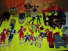 HUGE POWER RANGERS LOT,DOME,FIGURES,ZORDS+MORE