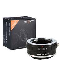 K&F Concept Objektivadapter für Minolta MD Objektiv auf Canon EOS M mount kamera