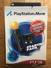 Playstation Move Starter Pack (light wear on box) - PS3 / PS4 UK Sealed!