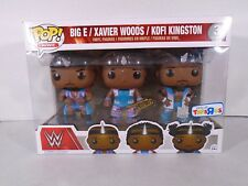 FUNKO POP! WWE--BIG E, XAVIER WOODS, KOFI KINGSTON FIGURE 3 PACK (NEW) TOYSRUS